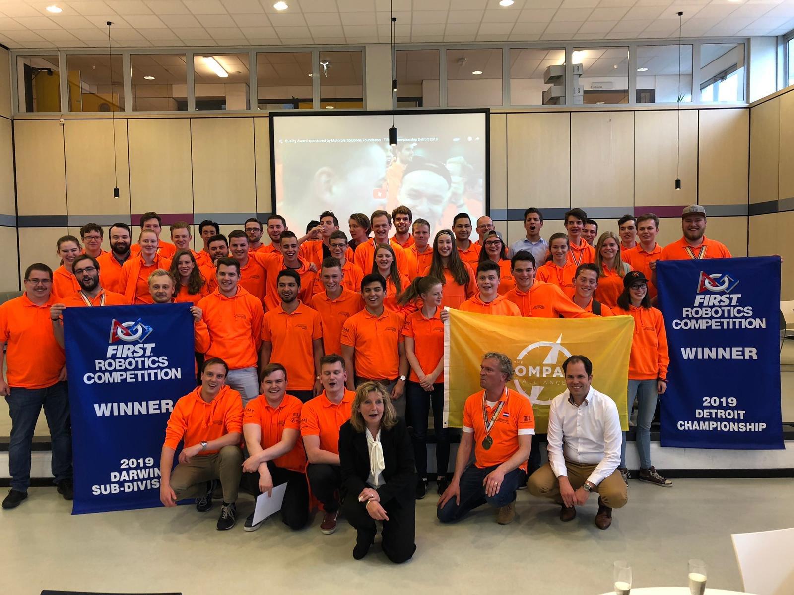 Wereldkampioen robot bouwen komt uit Nederland - TKI Dinalog